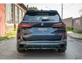 BMW X5 G05 MX Rear Bumper Extension