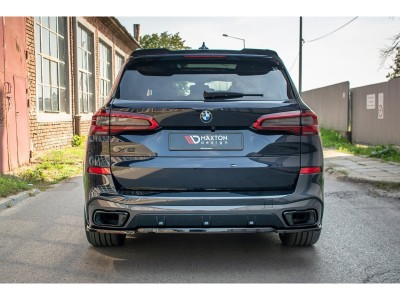 BMW X5 G05 MX Rear Bumper Extension