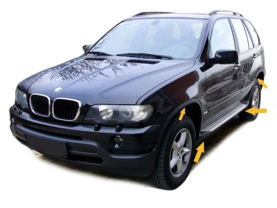 BMW X5 Sportline Body Kit