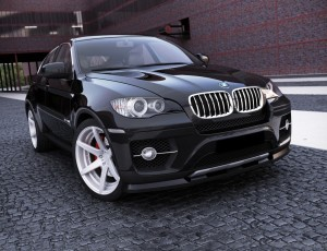 BMW X6 E71 MX Front Bumper Extension