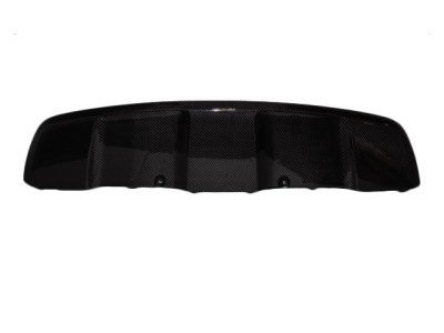 BMW X6 E71 Speed Carbon Fiber Rear Bumper Extension