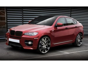 BMW X6 E71 Vortex Front Bumper Extension