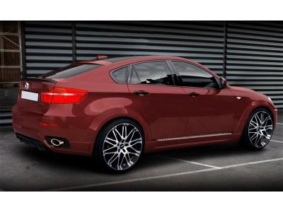 BMW X6 E71 Vortex Rear Bumper Extension