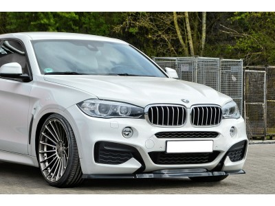 BMW X6 F16 Intenso Front Bumper Extension