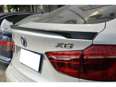 BMW X6 F16 M-Line Carbon Fiber Rear Wing