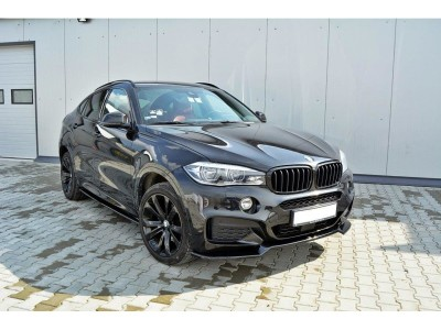 BMW X6 F16 MX Front Bumper Extension