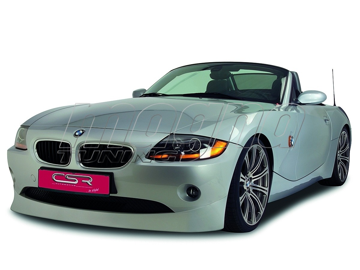 Bmw Z4 E85 E86 Xl Line Front Bumper Extension