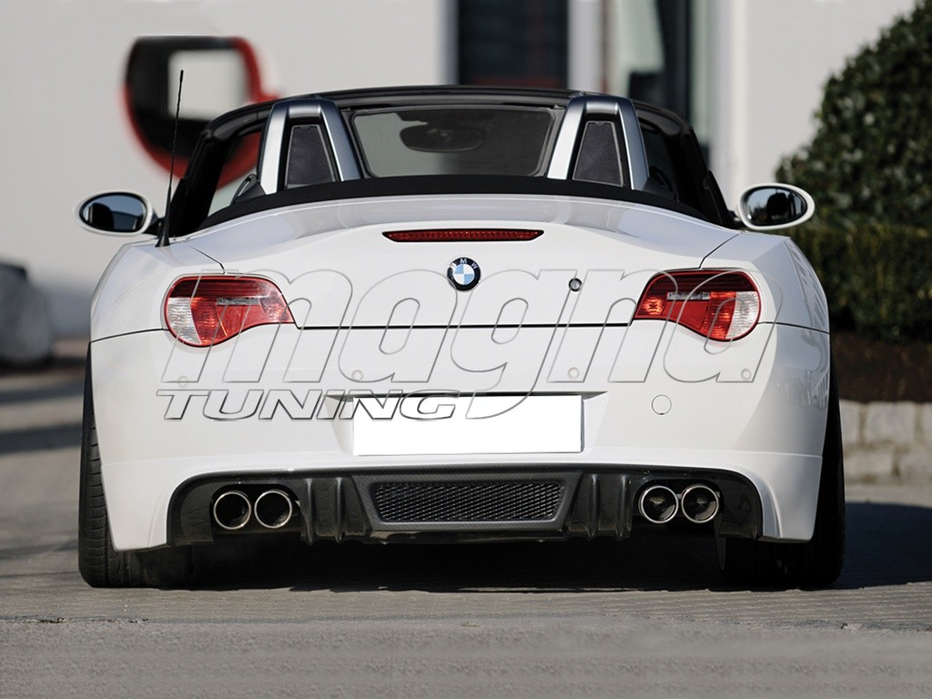 Bmw Z4 E85 E86 Vortex Rear Bumper Extension