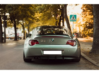 BMW Z4 E86 Racer Rear Bumper Extension