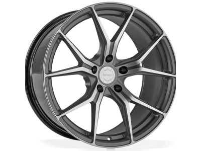 Barracuda Inferno Gunmetal Polished Wheel