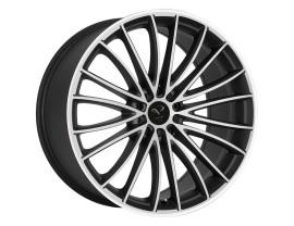 Barracuda Le Mans Matt Black Polished Wheel