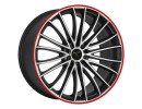 Barracuda Le Mans Matt Black Polished/CTR Alufelni