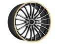 Barracuda Le Mans Matt Black Polished/CTY Wheel