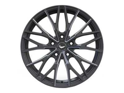 Barracuda Project Three Matt Black Polished Wheel
