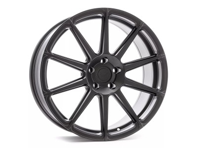 Barracuda Project Two Matt Gun Metal Wheel