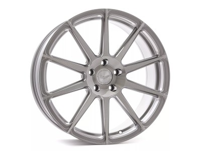 Barracuda Project Two Silver Brushed Wheel