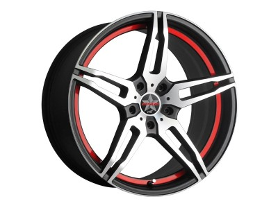 Barracuda Starzz Matt Black Polished/UCT Wheel