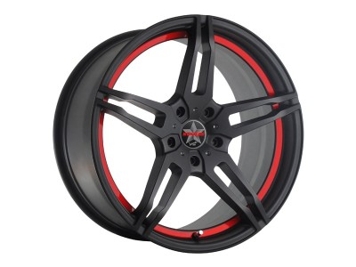 Barracuda Starzz Matt Black/UCT Wheel