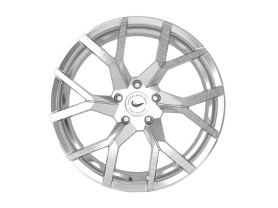 Barracuda Tzunamee Evo Silver Brushed Wheel