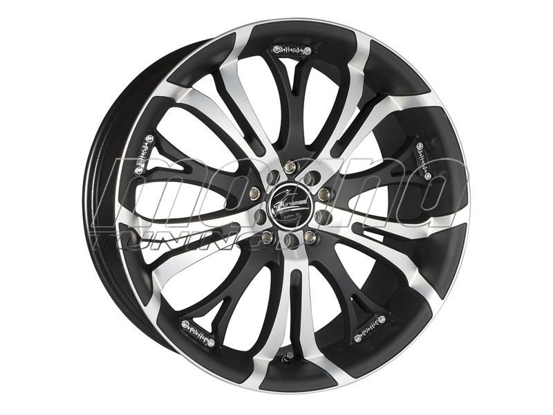 Barracuda Tzunamee Matt Black Polished Wheel