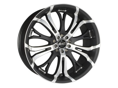 Barracuda Tzunamee Matt Black Polished Wheel