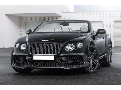 Bentley Continental GT / GTC MK2 Stenos Carbon Fiber Front Bumper Extension