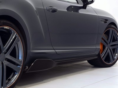 Bentley Continental GT / GTC MK2 Stenos Carbon Fiber Side Skirt Extensions
