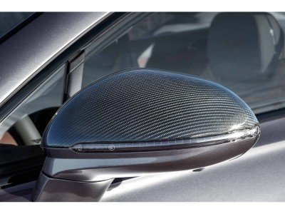 Bentley Continental GT / GTC MK3 Stenos Carbon Fiber Mirror Covers