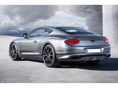 Bentley Continental GT / GTC MK3 Stenos Carbon Heckansatz