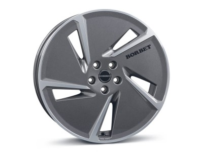 Borbet Classic AE Mistral Anthracite Polished Glossy Wheel