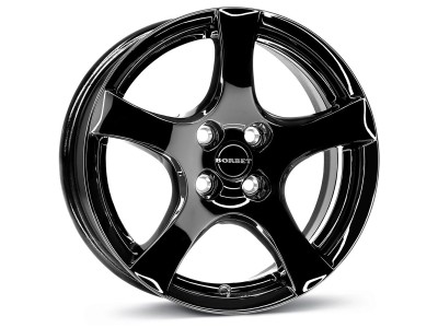Borbet Classic CWD Black Glossy Wheel