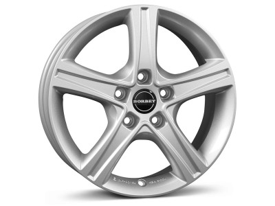 Borbet Classic CWD Crystal Silver Wheel