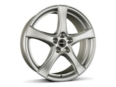 Borbet Classic F2 Brilliant Silver Felge