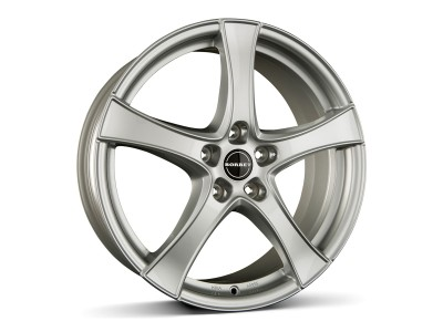 Borbet Classic F2 Brilliant Silver Wheel