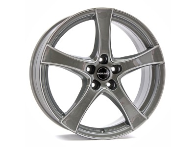 Borbet Classic F2 Graphite Polished Wheel