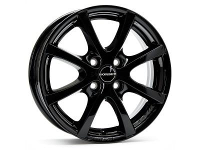Borbet Classic LV4 Black Glossy Wheel