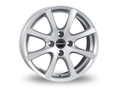 Borbet Classic LV4 Crystal Silver Wheel