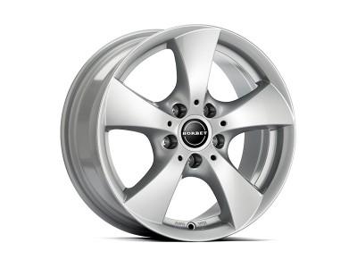 Borbet Classic TB Brilliant Silver Wheel