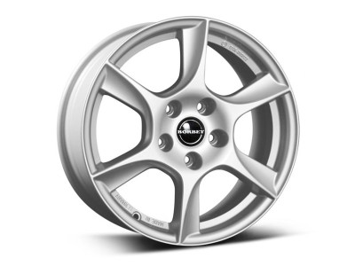 Borbet Classic TL Brilliant Silver Wheel