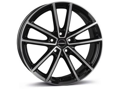 Borbet Classic W Black Polished Glossy Wheel