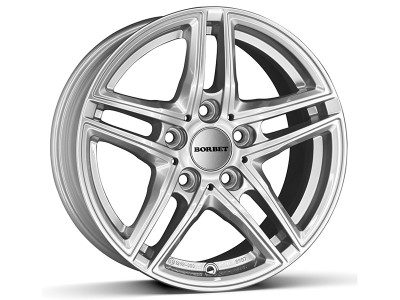 Borbet Classic XR Brilliant Silver Wheel