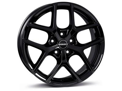 Borbet Classic Y Black Glossy Wheel