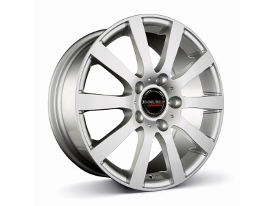 Borbet Commercial C2C Crystal Silver Wheel