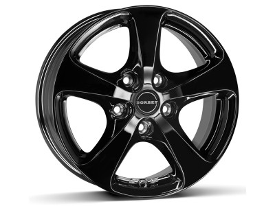 Borbet Commercial CC Black Glossy Wheel