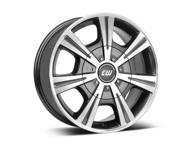 Borbet Commercial CH Mistral Anthracite Polished Wheel