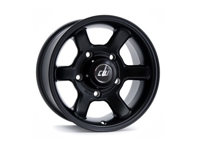 Borbet Commercial CW Black Matt Wheel