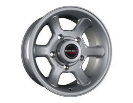 Borbet Commercial CW Crystal Silver Wheel