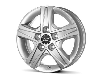 Borbet Commercial CWD Crystal Silver Wheel