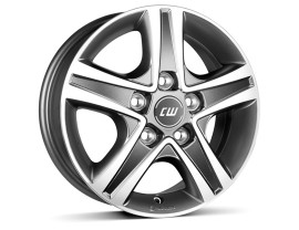 Borbet Commercial CWD Mistral Anthracite Polished Wheel