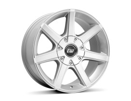 Borbet Commercial CWE Crystal Silver Wheel